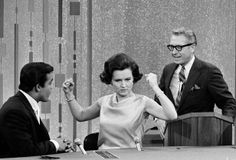 Betty White. Betty and husband, Allen Ludden (on Password)