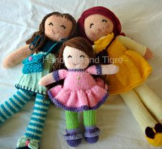 Dolls by Hand to Hand Tigre - Tejidos