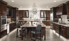 Maple Kitchen in Peppercorn - KraftMaid