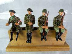 4 Umbau Massefiguren aufgesessen für Fahrzeuge - mimikry Tarnung - Lot6 | eBay