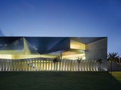sculptural minimalism - Municipal Auditorium of Teulada | Francisco Mangado Associates | Spain