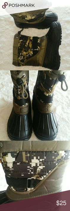 Boys Adorababy Boots Sz 3 Little Boy Adorababy Camo/Black Boots. Sz 3 little boy not toddler Used one time! adorababy Shoes Boots