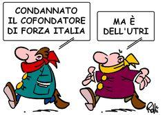 La vignetta di #Rolli sul Secolo XIX del 26 marzo 2013