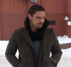 Jay Ryan as Vincent #batb bts S3 filming