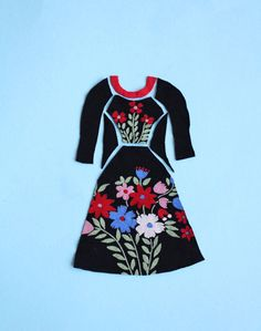 Zadie dress idea (so cute!) - sewing pattern by Tilly and the Buttons