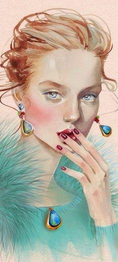 Tenderness ~ by Alina Grinpauka