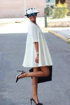 Spring dresses for every figure Next Fashion, Fashion 2020, Look Fashion, Womens Fashion, Mommy Style, Style Me, Vetement Fashion, Classy Casual, Professional Outfits
