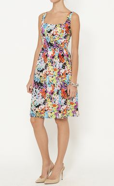 Nanette Lepore Pink, Black And Multicolor Dress | VAUNTE