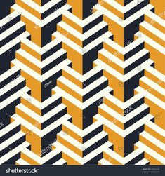 Find Isometric Vector Seamless Pattern stock images in HD and millions of other royalty-free stock photos, illustrations and vectors in the Shutterstock collection. Thousands of new, high-quality pictures added every day. Motif Art Deco, Art Deco Pattern, Modern Quilt Patterns, Textures Patterns, Art Design, Graphic Design Art, Jungle Illustration, Graph Paper Art, Isometric Art