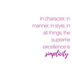 Simplicity: the state of being simple, uncomplicated, or uncompounded