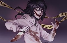|Jeff The Killer Fanart| Crime Scene |+SPEEDPAINT by 0ktavian.deviantart.com on @DeviantArt