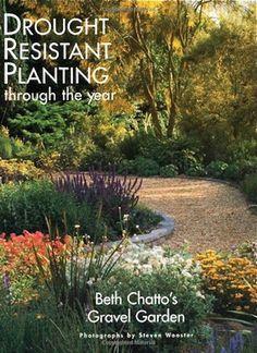 Beth Chatto's Gravel Garden book cover via Gardenista