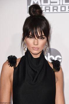 Kendall Jenner at the 2015 American Music Awards. #AMAs #kendalljenner