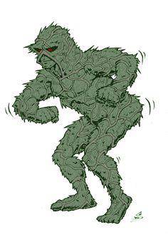 Shake Yo Swamp Thang by drawerofdrawings.deviantart.com on @DeviantArt