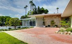 1951, mid-century modern house by Kenneth Lind for Manuel Seff, Beverly Hills