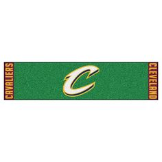 NBA Cleveland Cavaliers 1 ft. 6 in. x 6 ft. Indoor 1-Hole Golf Practice Putting Green