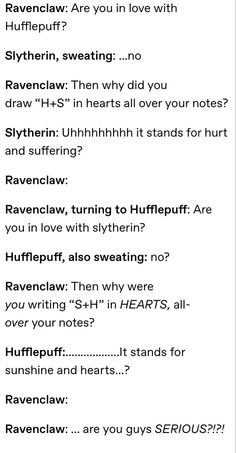 Harry Potter Puns, Harry Potter Universal, Harry Potter World, Dramione, Drarry, Slytherin And Hufflepuff, Ravenclaw Memes, Yer A Wizard Harry, Book Memes