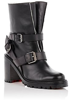 Christian Louboutin Viyonce Leather Ankle Boots - Boots - 505129595