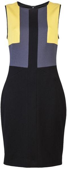 Jason Wu - Jersey Colorblock Dress - Lyst