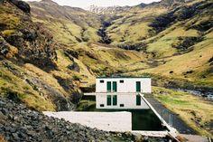 warmwaterbron IJsland: Myvatn Nature Baths.