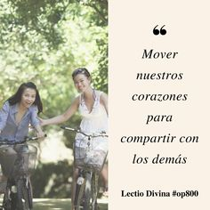 Mover nuestros corazones para compartir con los demás #LectioDivina #op800 http://www.op.org/es/lectio/2016-10-17