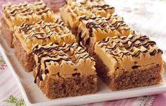 karamelové řezy s banánem Czech Recipes, Tiramisu, Food And Drink, Sweets, Desserts, Cake, Tailgate Desserts, Deserts, Gummi Candy