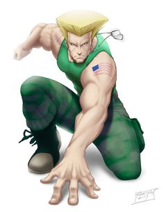 Guile - Street Fighter - Redg Vicente