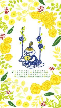 Moomin Wallpaper, Pastel Wallpaper, Iphone Wallpaper, Little My Moomin, Moomin Cartoon, Moomin Valley, Cartoon Photo, Tove Jansson, Illustration