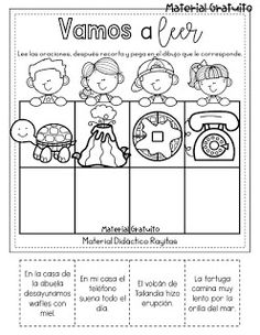 Early Childhood Education, Homeschool, Language, Diagram, Teaching, Activities, Comics, Terraria, Spanish