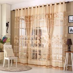 Роскошные оконные шторы для гостиной европейский королевских вышитая  тюль шторы для спальни тюль отвесные занавески