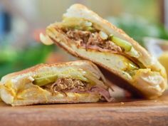 Get Cubano Sandwich Recipe from Food Network