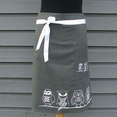 Night owl Cafe apron