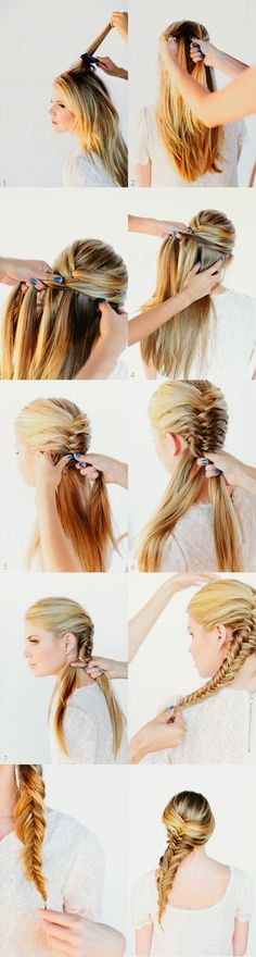 trends4everyone: Women Hair Style Tutorials....