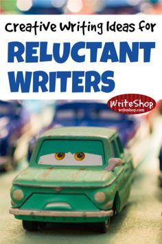 Creative writing ideas for struggling writers | Homeschool writing prompts - WriteShop