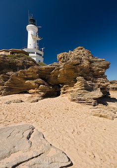Point Lonsdale, Victoria, Australia I've been here many times a beautiful open ocean beach Tasmania, Lighthouse Pictures, Land Of Oz, Beacon Of Light, Rock Pools, Water Tower, Victoria Australia, Ocean Beach, Australia Travel