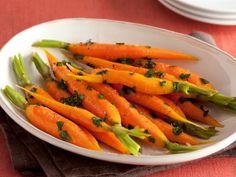 Get Sunny Anderson's Honey Glazed Carrots Recipe from Food Network