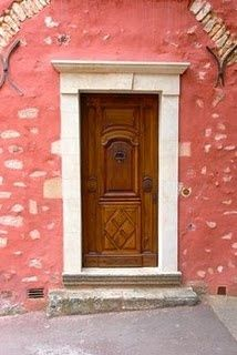 Roussillon Door, Provence: