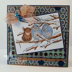 """""""Cozy Friends """" by Stacy Morgan on House-Mouse Designs®"""