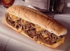 If you ever go to Philadelphia you have to have a real philly cheese steak! Life changing lol.