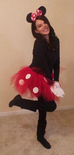 Homemade Minnie Mouse Costume Ideas.