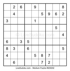 9 Best Sudoku I M Up To Medium Puzzles Now In The Basic Version
