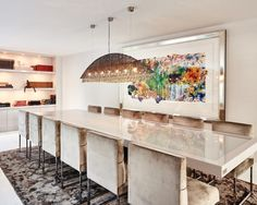 The Nehterlands / Amsterdam / Private Residence / Dining Room / Eric Kuster / Metropolitan Luxury