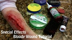 Bloody Wound Special Effects