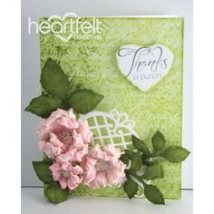 Gallery | Pink Blooms Thank You - Heartfelt Creations