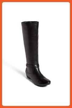 Blondo Women's Jeane Waterproof Leather Boot (7.5, Black) - Boots for women (*Amazon Partner-Link)