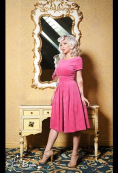 Kristina Dress in Pink by Laura Byrnes Black Label