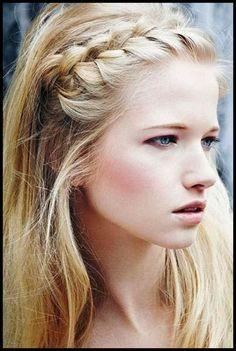 Klassische und süße Frisur Ideen für lange Haare ...
