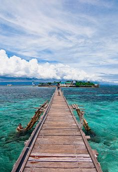 Boardwalk in Nalusuan island, Cebu Strait, Philippines Places Around The World, Oh The Places You'll Go, Places To Travel, Travel Destinations, Places To Visit, Around The Worlds, Philippines Beaches, Philippines Travel, Cebu