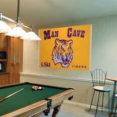 LSU Tigers 3' x 5' Man Cave Flag