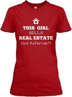 NEW! This Girl Sells Real Estate Shirt
